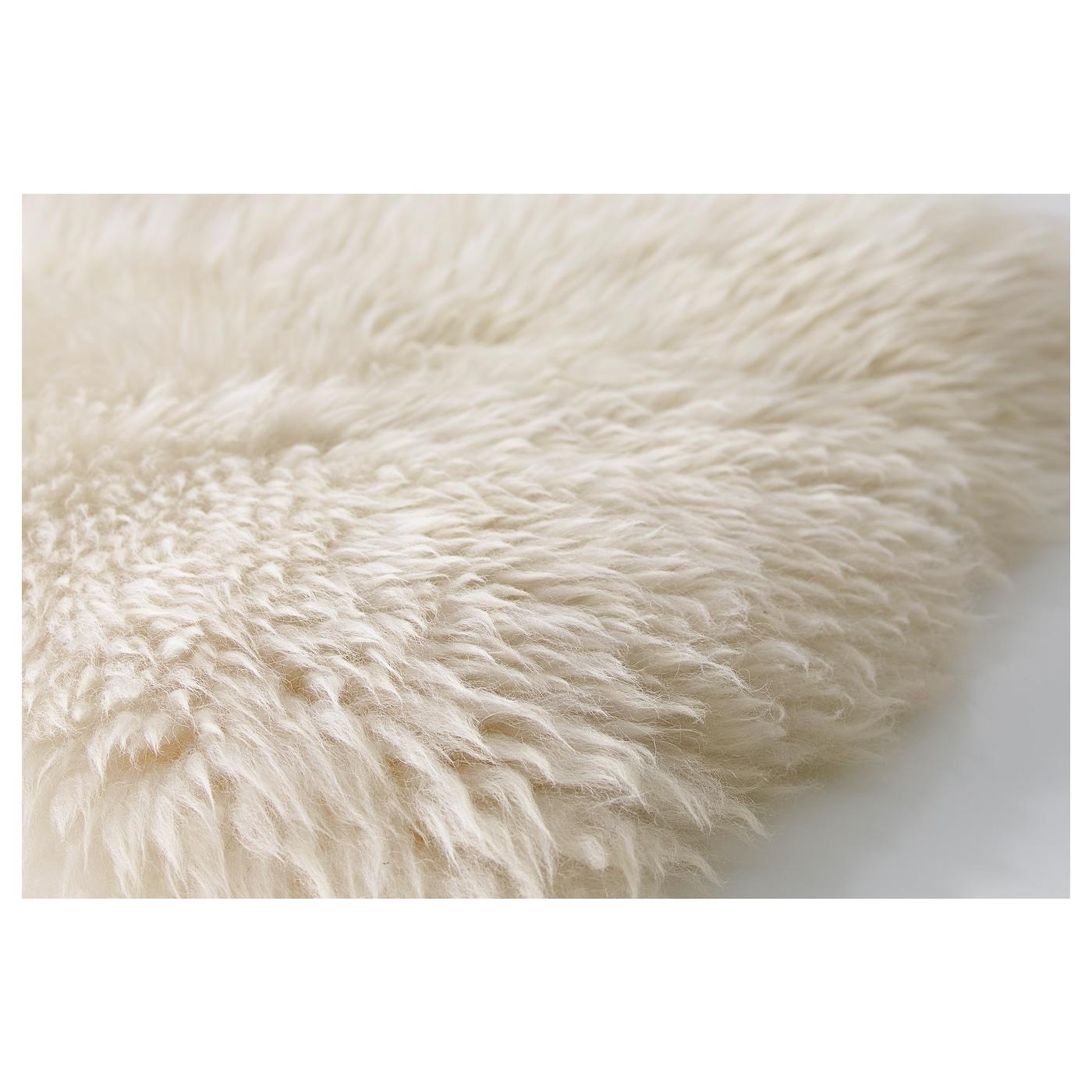 Peau De Mouton Grise Ikea ludde peau de mouton - blanc blanc cassé