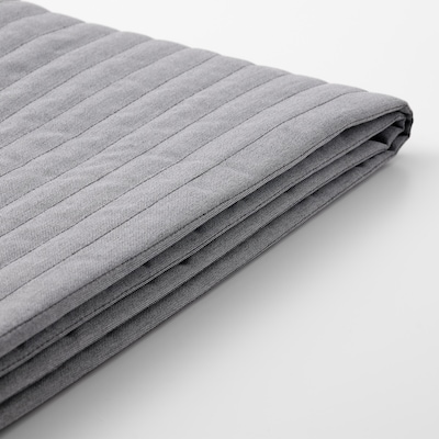 LYCKSELE Housse convertible 2 places, Knisa gris clair