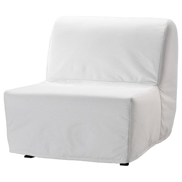 Lycksele Lovas Chauffeuse Convertible Ransta Blanc Ikea