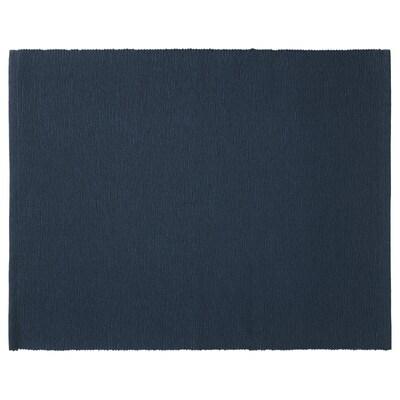 MÄRIT Set de table, bleu foncé, 35x45 cm