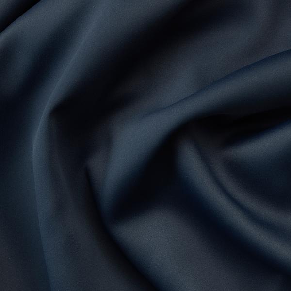 MAJGULL Rideaux occultant, 2 pièces, avec oeillets bleu foncé, 145x300 cm