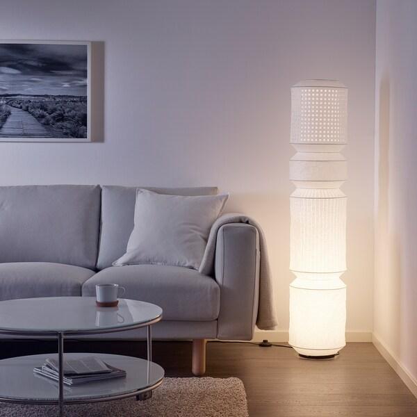 MAJORNA lampadaire blanc 13 W 140 cm 29 cm 2.6 m