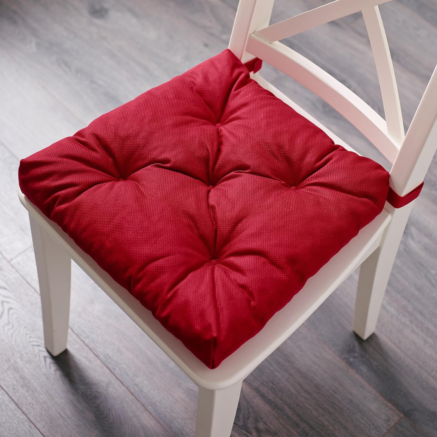 MALINDA Coussin de chaise, rouge, 4035x38x7 cm IKEA