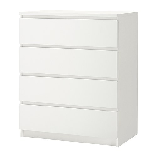 malm commode 4 tiroirs blanc ikea. Black Bedroom Furniture Sets. Home Design Ideas