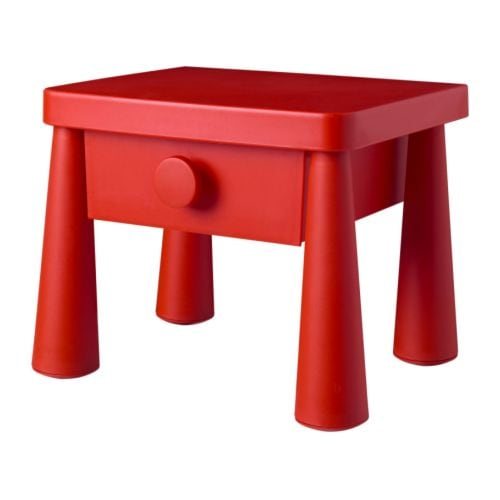 Ikea chambre meubles canap s lits cuisine s jour for Table de chevet rouge ikea