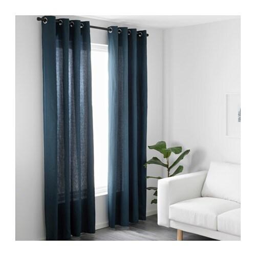 MARIAM Rideaux, 1 paire IKEA Les rideaux atténuent la luminosité et préservent l'intimité.