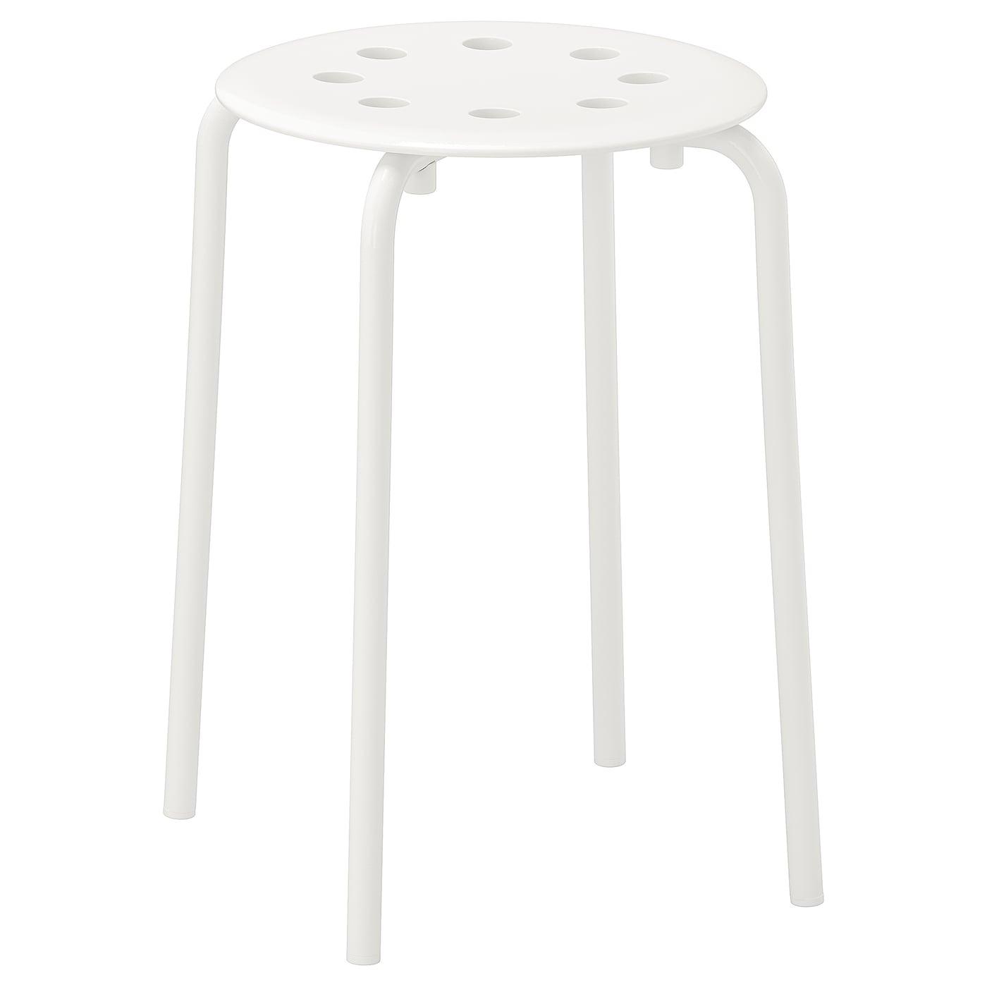 Marius Tabouret Blanc Ikea