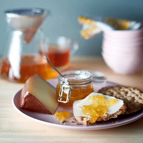 MARMELAD APELSIN & FLÄDER Marmelade orange/fleur de sureau, bio