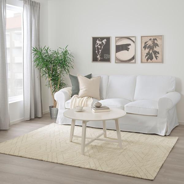 MARSTRUP Tapis, poils ras, beige, 160x230 cm