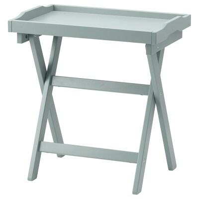 MARYD Table/plateau, vert, 58x38x58 cm