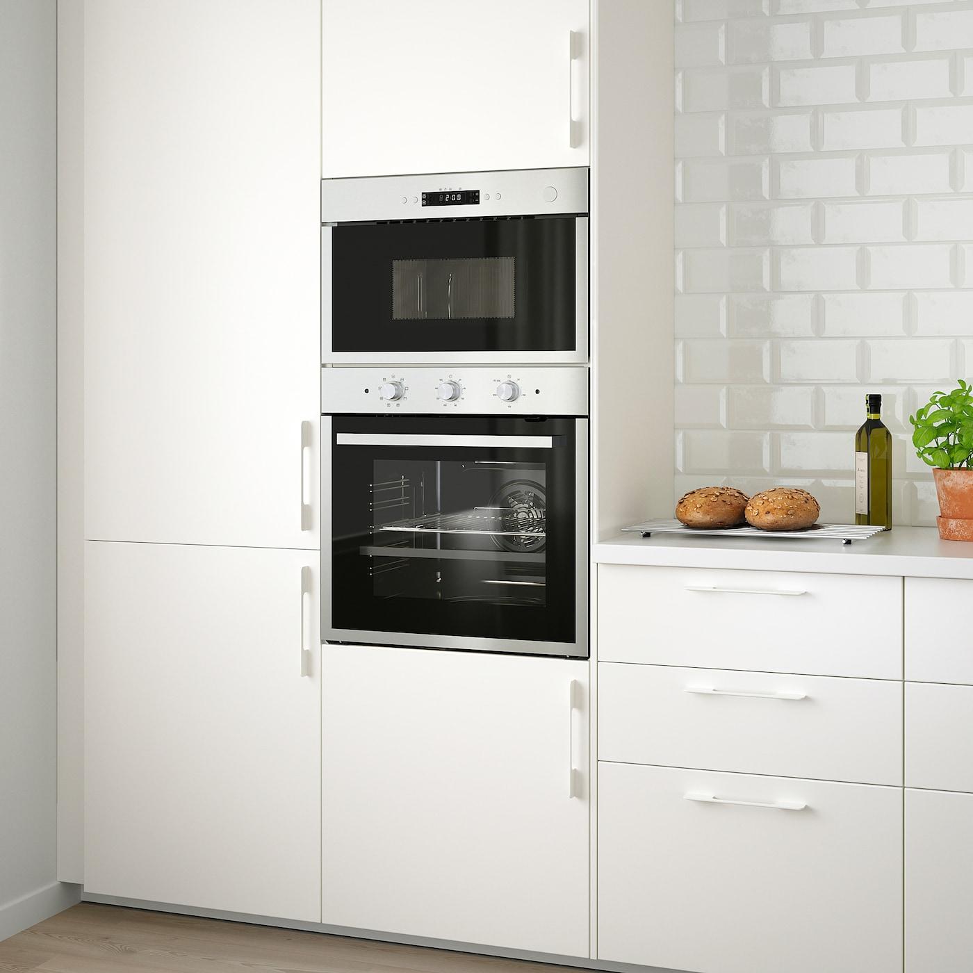 Meuble Sous Plaque Four Ikea matÄlskare four à pyrolyse - couleur acier inox