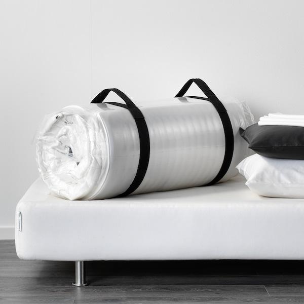 MATRAND Matelas latex, mi-ferme/blanc, 140x200 cm
