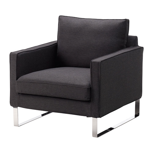 mellby fauteuil dansbo gris fonc ikea. Black Bedroom Furniture Sets. Home Design Ideas
