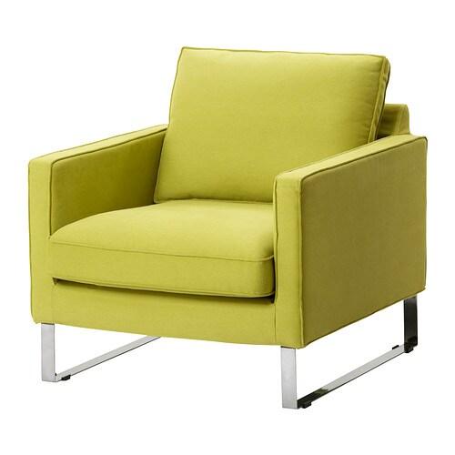Mellby housse de fauteuil dansbo jaune vert ikea for Ikea housse de fauteuil