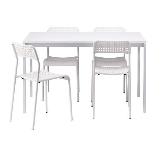 Melltorp adde table et 4 chaises ikea - Ikea cuisine table et chaise ...
