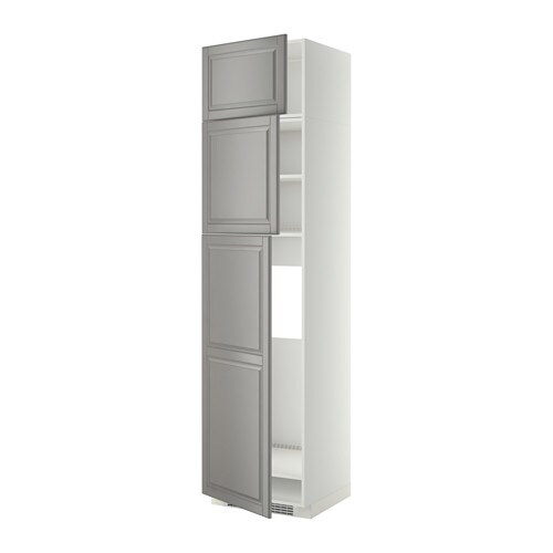 Metod Arm Réf 3ptes Blanc Bodbyn Gris Ikea