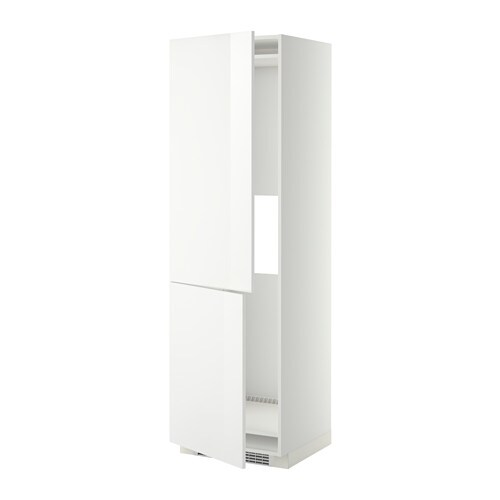 metod arm r frig cong 2tir blanc ringhult brillant blanc 60x60x200 cm ikea. Black Bedroom Furniture Sets. Home Design Ideas