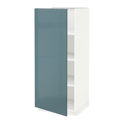 metod armoire avec tablettes blanc kallarp brillant. Black Bedroom Furniture Sets. Home Design Ideas