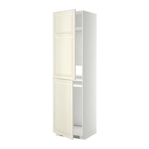 metod armoire pour r frig cong lateur blanc bodbyn blanc cass 60x60x220 cm ikea. Black Bedroom Furniture Sets. Home Design Ideas