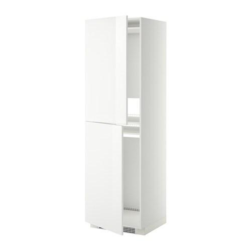 metod armoire pour r frig cong lateur blanc ringhult brillant blanc 60x60x200 cm ikea. Black Bedroom Furniture Sets. Home Design Ideas