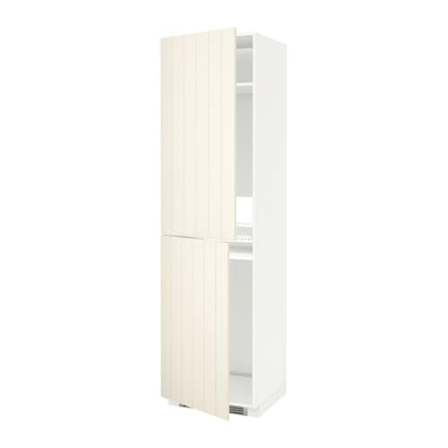 metod armoire pour r frig cong lateur blanc hittarp blanc cass 60x60x220 cm ikea. Black Bedroom Furniture Sets. Home Design Ideas