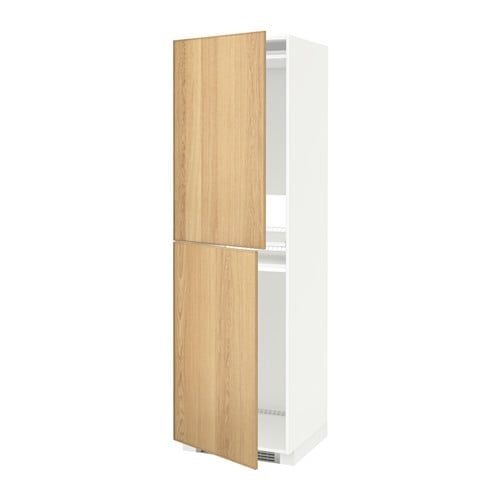 metod armoire pour r frig cong lateur blanc ekestad ch ne 60x60x200 cm ikea. Black Bedroom Furniture Sets. Home Design Ideas