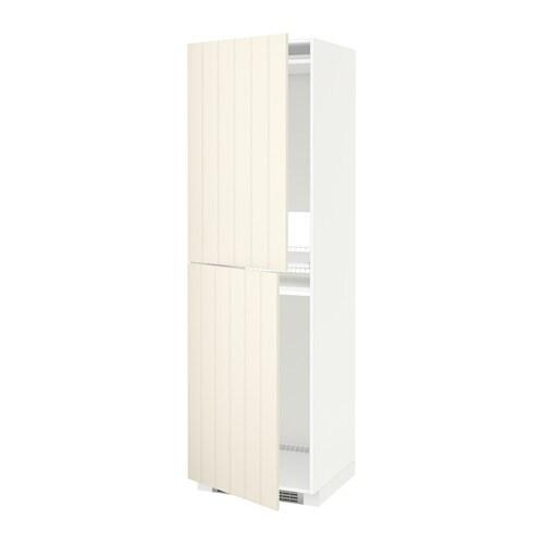 metod armoire pour r frig cong lateur blanc hittarp blanc cass 60x60x200 cm ikea. Black Bedroom Furniture Sets. Home Design Ideas