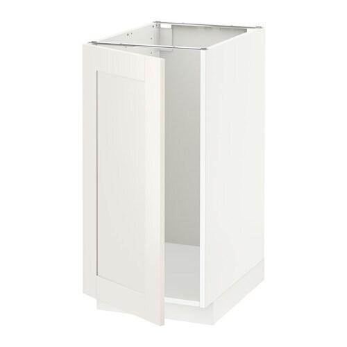 metod l bs vier tri blanc s vedal blanc ikea. Black Bedroom Furniture Sets. Home Design Ideas