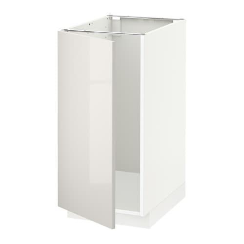 metod l bs vier tri blanc ringhult brillant gris clair ikea. Black Bedroom Furniture Sets. Home Design Ideas