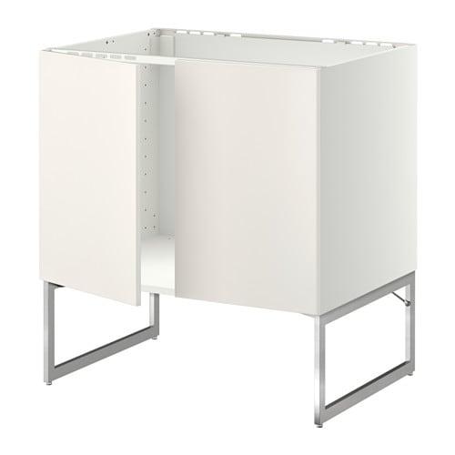 metod l vier 2 ptes blanc veddinge blanc ikea. Black Bedroom Furniture Sets. Home Design Ideas