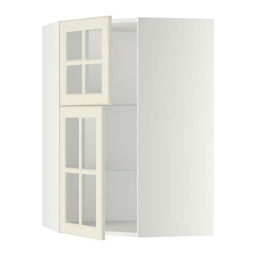 metod l mur angle tabl 2 ptes verre blanc bodbyn blanc cass ikea. Black Bedroom Furniture Sets. Home Design Ideas