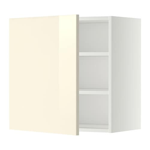Metod l mur tabls blanc 60x60 cm ringhult brillant for Protection mur cuisine ikea