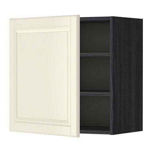 metod l mur tabls effet bois noir bodbyn blanc cass 60x60 cm ikea. Black Bedroom Furniture Sets. Home Design Ideas