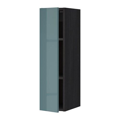 metod l mur tabls effet bois noir kallarp brillant gris turquoise 20x80 cm ikea. Black Bedroom Furniture Sets. Home Design Ideas