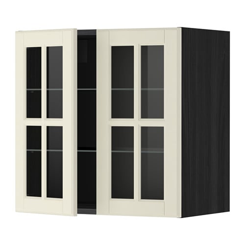 metod l mur tblts 2pts vit effet bois noir bodbyn blanc cass 60x60 cm ikea. Black Bedroom Furniture Sets. Home Design Ideas