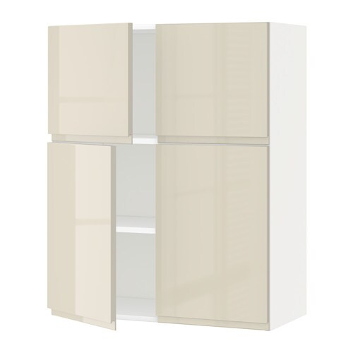 metod l mur tbs 4p blanc voxtorp brillant beige clair ikea. Black Bedroom Furniture Sets. Home Design Ideas