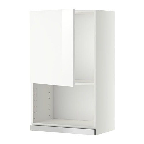 metod l mural pr micro ondes blanc ringhult brillant blanc 60x100 cm ikea. Black Bedroom Furniture Sets. Home Design Ideas