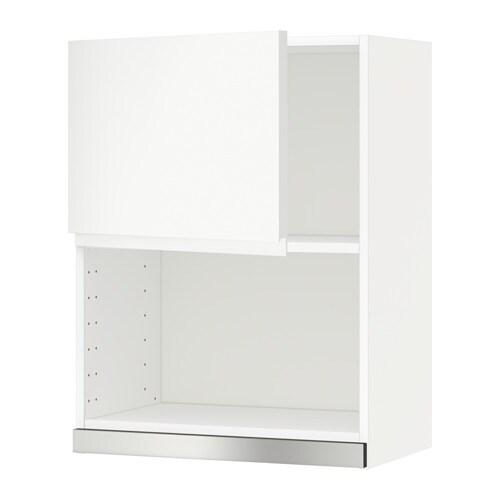 Metod Él Mural Pr Micro-Ondes - Blanc, Voxtorp Blanc, 60X80 Cm - Ikea