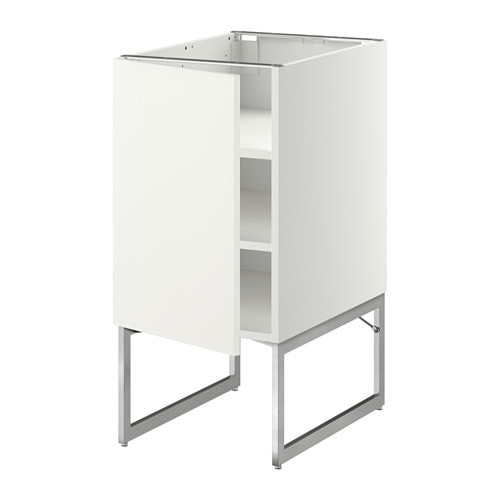 metod l ment bas avec tablettes blanc h ggeby blanc 40x60x60 cm ikea. Black Bedroom Furniture Sets. Home Design Ideas