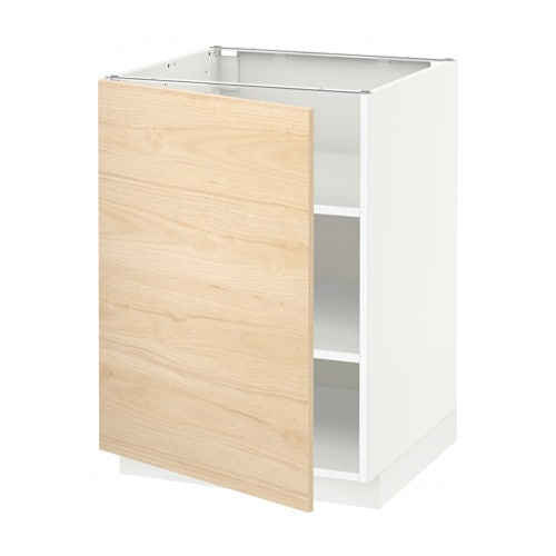 metod l ment bas avec tablettes blanc askersund 60x60 cm ikea. Black Bedroom Furniture Sets. Home Design Ideas