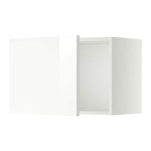 metod l ment mural blanc ringhult brillant blanc 60x40 cm ikea. Black Bedroom Furniture Sets. Home Design Ideas