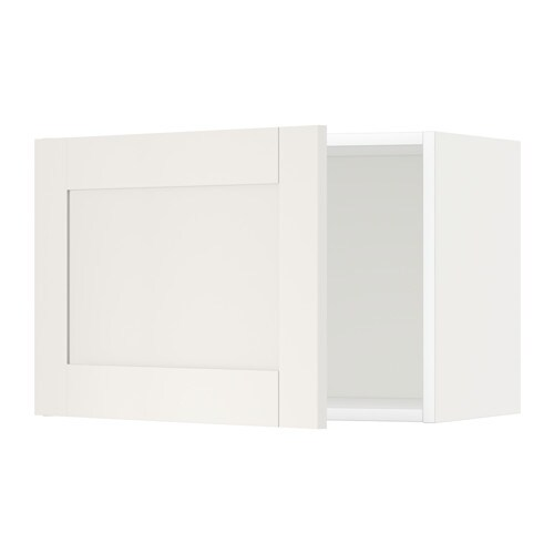 metod l ment mural blanc s vedal blanc 60x40 cm ikea. Black Bedroom Furniture Sets. Home Design Ideas
