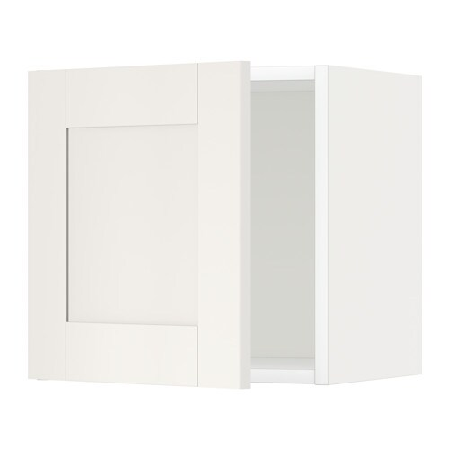 metod l ment mural blanc s vedal blanc 40x40 cm ikea. Black Bedroom Furniture Sets. Home Design Ideas