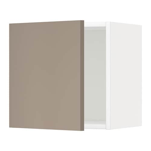 metod l ment mural blanc ubbalt beige fonc 40x40 cm ikea. Black Bedroom Furniture Sets. Home Design Ideas