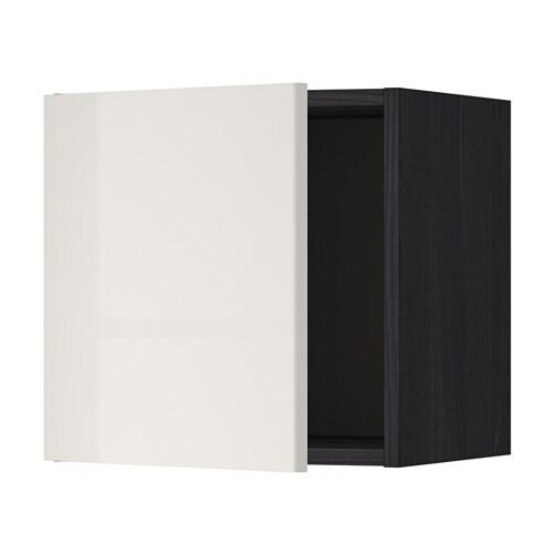metod l ment mural effet bois noir ringhult brillant gris clair 40x40 cm ikea. Black Bedroom Furniture Sets. Home Design Ideas