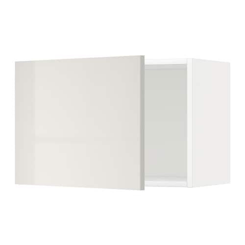 metod l ment mural blanc ringhult brillant gris clair 60x40 cm ikea. Black Bedroom Furniture Sets. Home Design Ideas