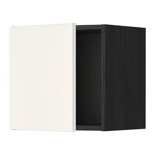 metod l ment mural effet bois noir veddinge blanc 40x40 cm ikea. Black Bedroom Furniture Sets. Home Design Ideas
