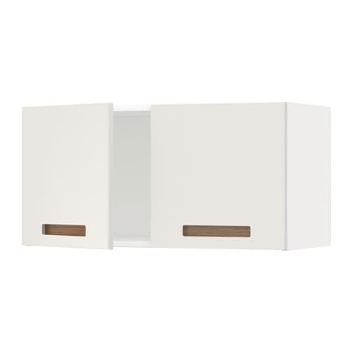 metod l ment mural 2 portes blanc m rsta blanc ikea. Black Bedroom Furniture Sets. Home Design Ideas