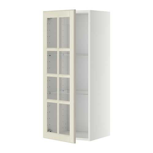 metod l ment mural tablettes pte vitr e blanc bodbyn blanc cass 40x100 cm ikea. Black Bedroom Furniture Sets. Home Design Ideas