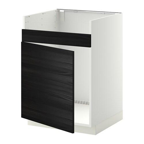 metod l ment pour vier domsj 1 bac blanc tingsryd. Black Bedroom Furniture Sets. Home Design Ideas